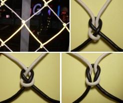 網の結び目