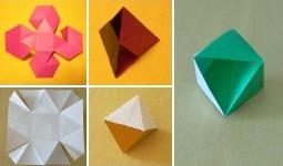 多切非正方形折り紙など