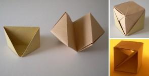 「真向カラ立方体割り」