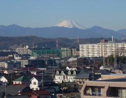 東京からの富士