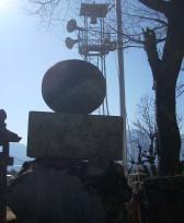 大泉町城南の丸石神