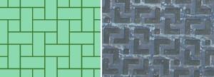 卍敷四畳半パターン