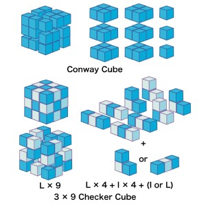 Conway Cube & Checker Cube