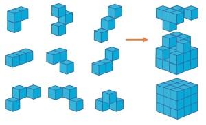 9ピースキューブ