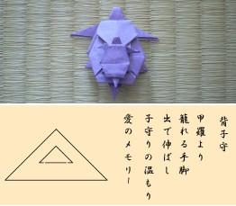『萬尾亀折形』 「背子守」