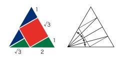 三角分割マーク