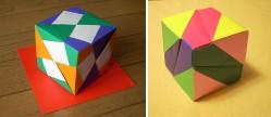 ユニット折り紙ふたつ