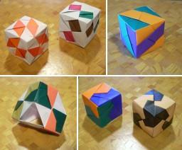 立方体作品いくつか