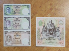 正方形紙幣など
