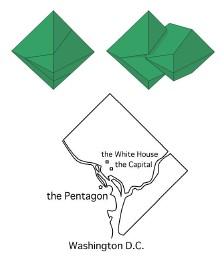 四角の中の五角