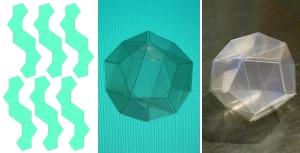 立方体内接正十二面体
