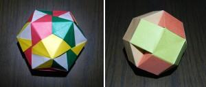 立方八面体、斜方立方八面体