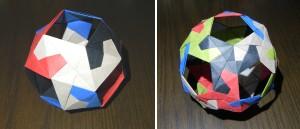 ねじれ立方体、ねじれ十二面体