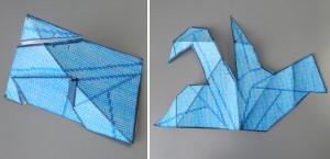 折鶴四面体