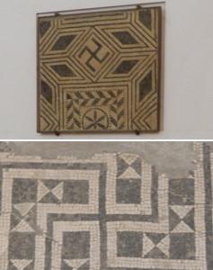 パルマ考古学博物館の卍