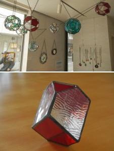 ステンドグラス「メランコリアの多面体」