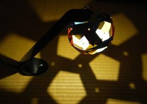 ねじれ十二面体の影