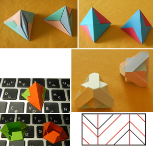 正四面体モデル