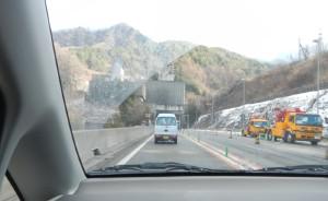 笹子トンネル(2012/12/29)
