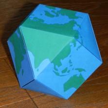 二枚組立方八面体