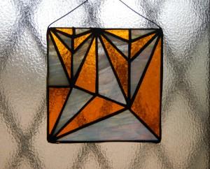 ステンドグラス・「木」の展開図