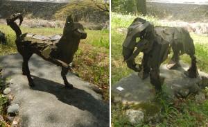 ポリゴン彫刻