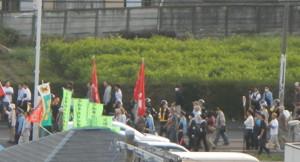 国体反対デモ