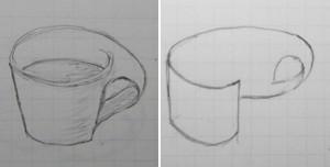 メビウスコーヒーカップ