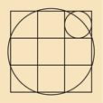 例のシンボルマークの作図