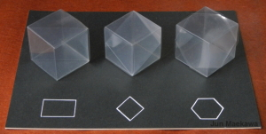 Sections of the Cubes