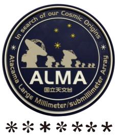 ALMAコースター