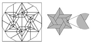 「ダビデの星」の近似