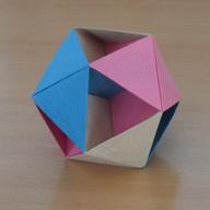 正二十面体の中のデカルト座標