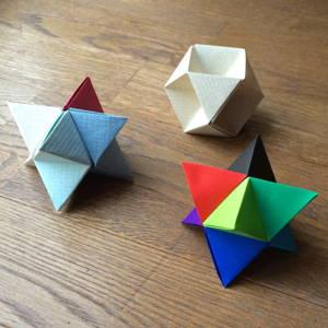 ケプラーの星&立方半八面体