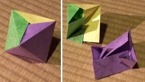 3枚組正八面体