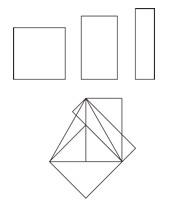 オリンピックのエンブレムの基本四角形