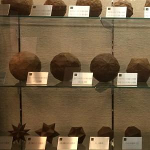 菱田為吉の木彫の多面体