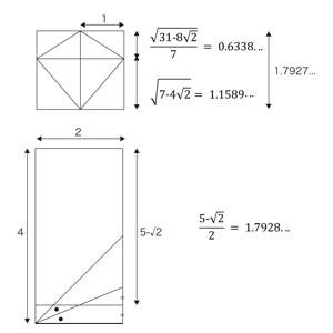 凧型二十四面体の面