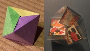 三枚組の正八面体