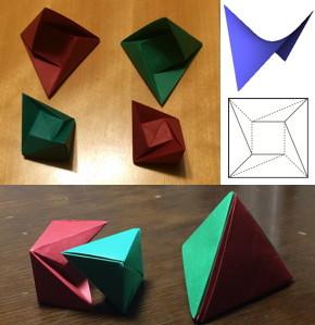 立方体の二等分、正八面体の二等分