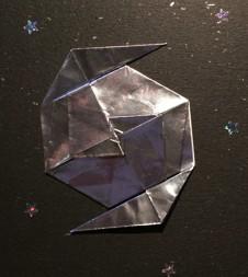折り紙渦巻銀河
