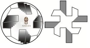 ワールドカップ2018の公式球の構造
