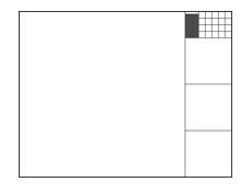 ブラウンカーの式による正方形タイリング