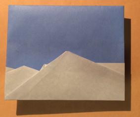 八ヶ岳と青空