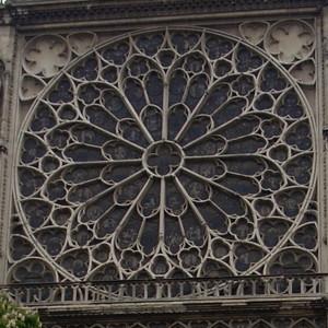 ノートルダム大聖堂・南の薔薇窓