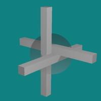 三本の直方体