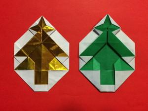 クリスマスツリーのエンブレム
