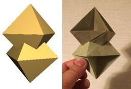 ふたつの正八面体