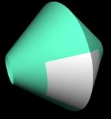 錐面の接続