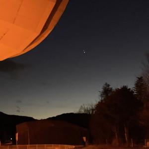 野辺山:木星と土星